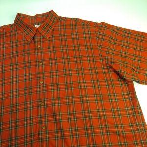 Brooks Brothers Men's XXL Plaid Button Down Shirt